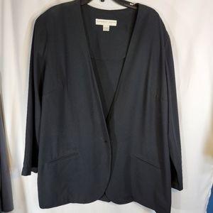 Kathryn Deene Black Blazer Size 22